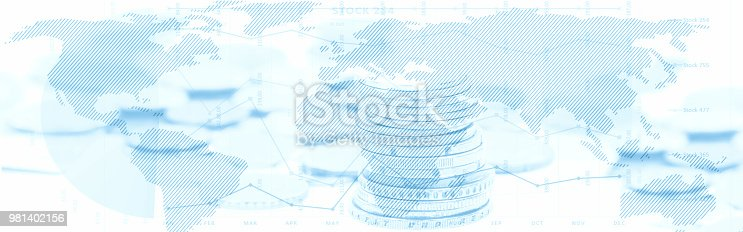 813402032istockphoto Stock market abstract background 981402156