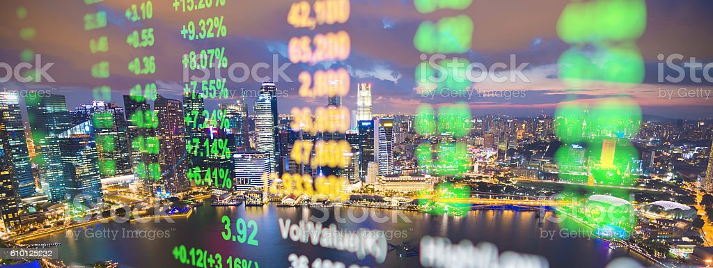 stock market and finance economic analysis market Background stock photo