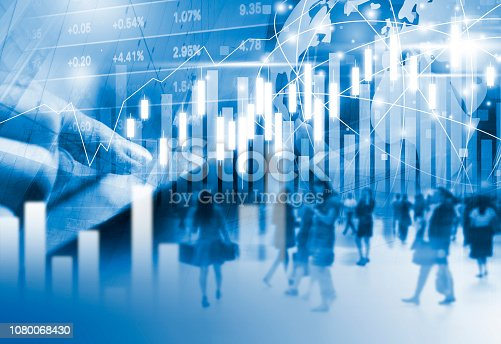 813402032istockphoto Stock market background design 1080068430
