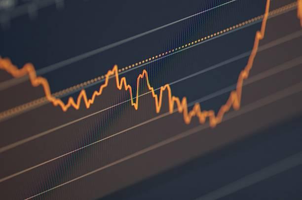 Börse chart – Foto