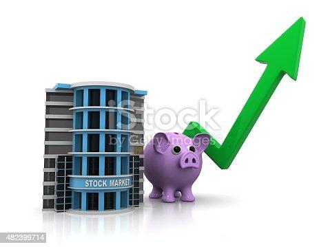 istock Stock Market concept 482399714