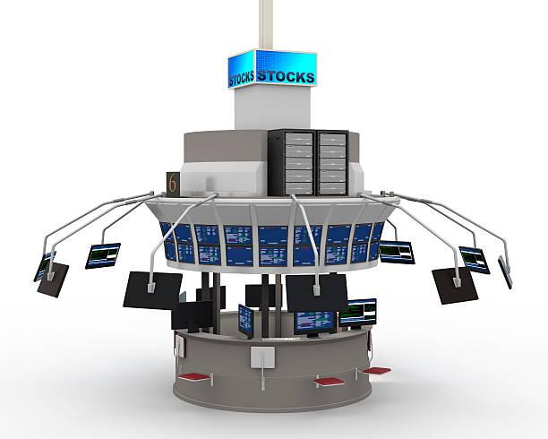 com sombras conceito de mercado de stock - nyse crash imagens e fotografias de stock