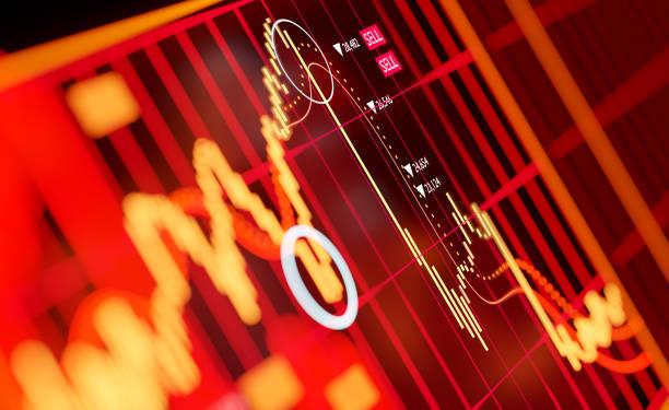 börsencrash 2020 - börse stock-fotos und bilder