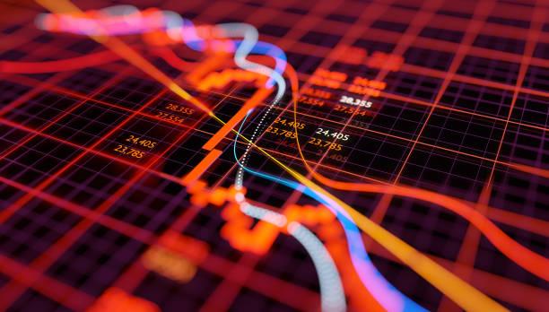 Börsencrash-Chart – Foto