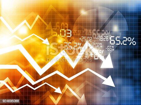 istock Stock market crisis 924695088