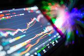 istock stock market data on tablet 540848040