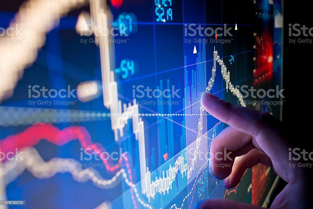 Stock Market Data foto