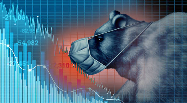 Stock Market Disease stock photo