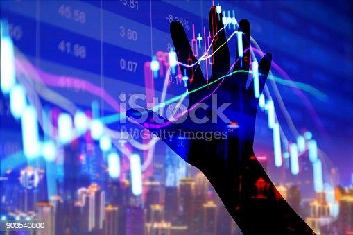 istock Stock market display 903540800