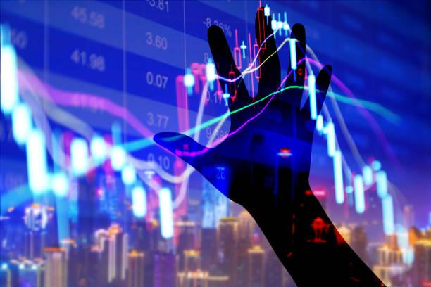 börse-anzeige - wirtschaftsrecht stock-fotos und bilder