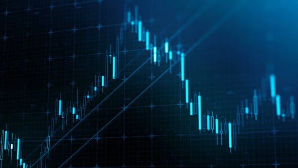 stock market financial data and charts - new york stock exchange stock pictures, royalty-free photos & images