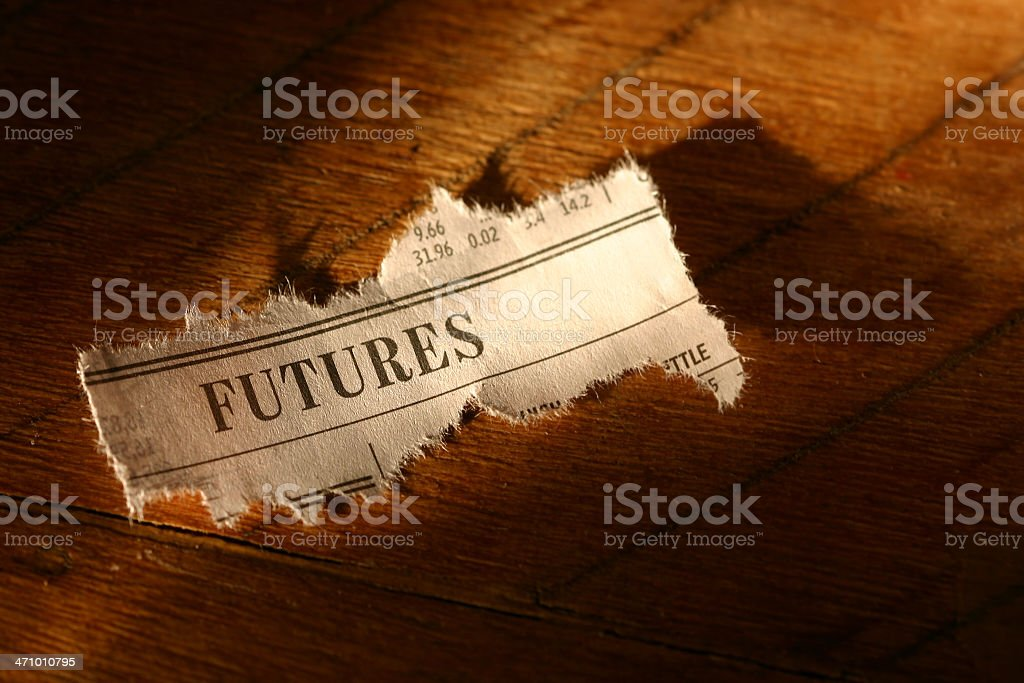 Stock Market - Futures royalty-free stock photo