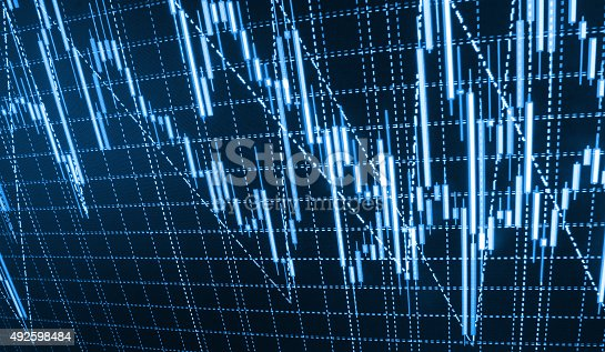 896567272istockphoto Stock market graph and bar chart price display 492598484