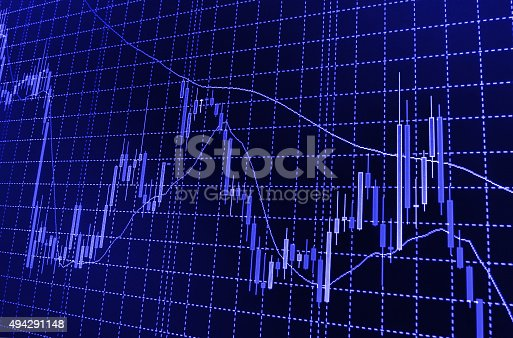 896567272istockphoto Stock market graph and bar chart price display 494291148