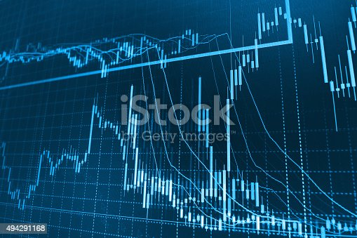 896567272istockphoto Stock market graph and bar chart price display 494291168