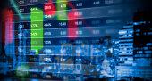 istock Stock market graph background 620712072