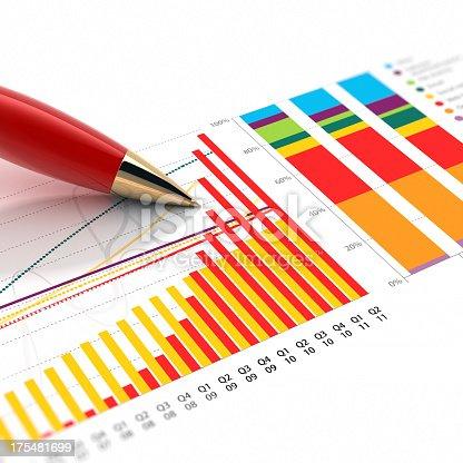 531581605 istock photo Stock Market Graph 175481699