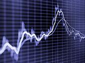 istock Stock market graph 613038566