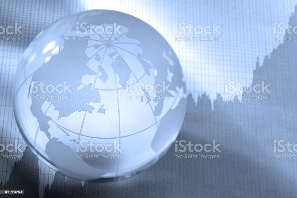 Stock Market Growth royalty-free stock photo
