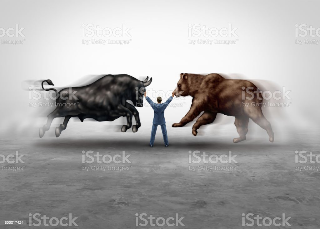 Stock Market Management stock photo