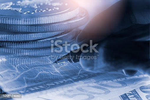 1140473216istockphoto Stock market or forex trading graph and candlestick chart suitable for financial investment concept. Economy trends background for business idea and all art work design. Abstract finance background. 1098124052