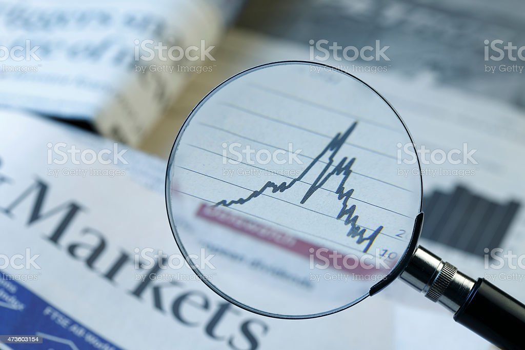 Stock Market Performance stock photo