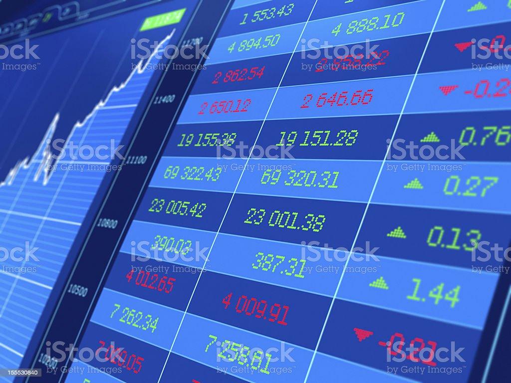 Stock market royalty-free stock photo