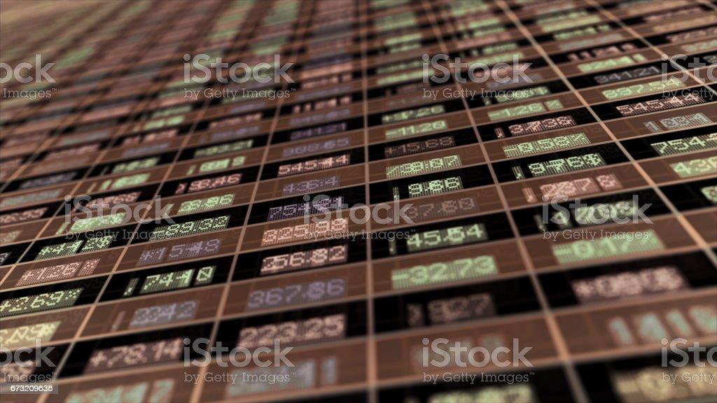 Mercado de ações  - foto de acervo