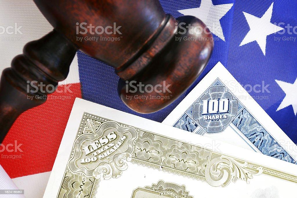 Stock Market Watch royalty-free stock photo