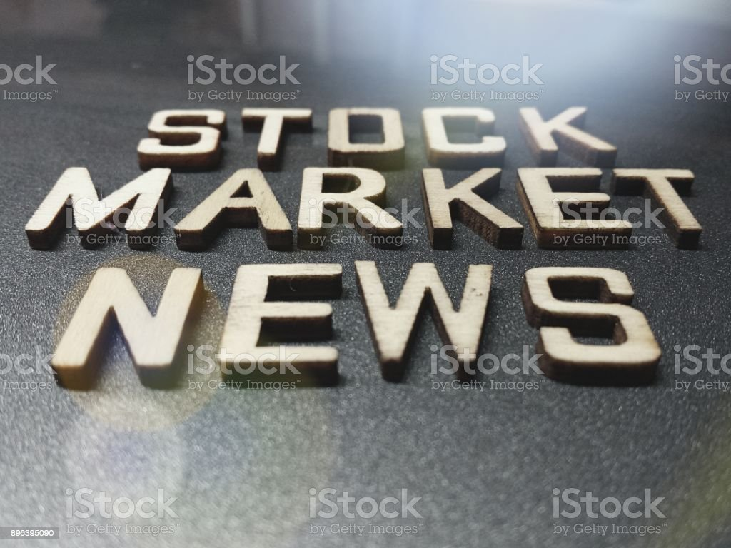 C Stock Quote Stock Market Word Quote Heading Title Stock Photo  Istock