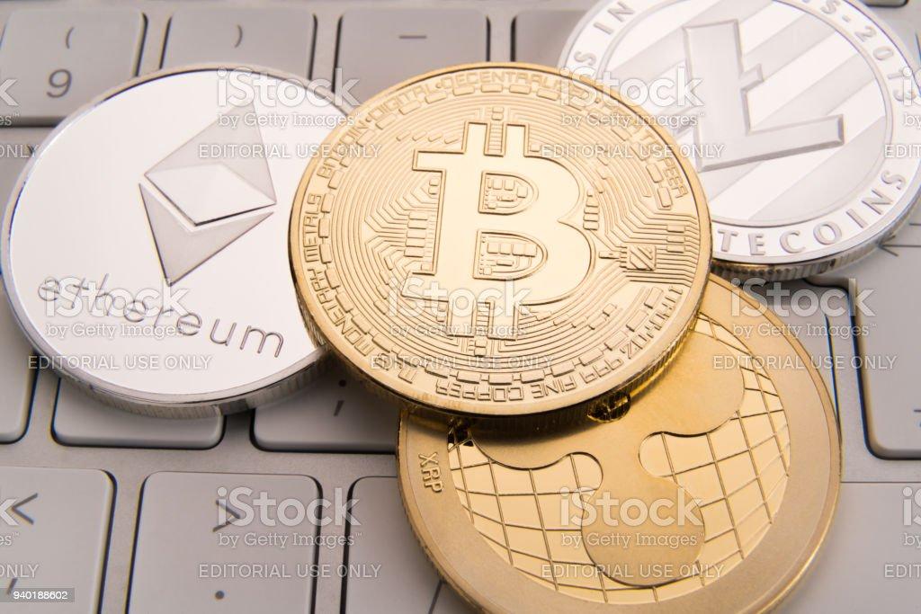 Stock Of Physical Bitcoins Btc Bitcoin Ethereum Litecoins