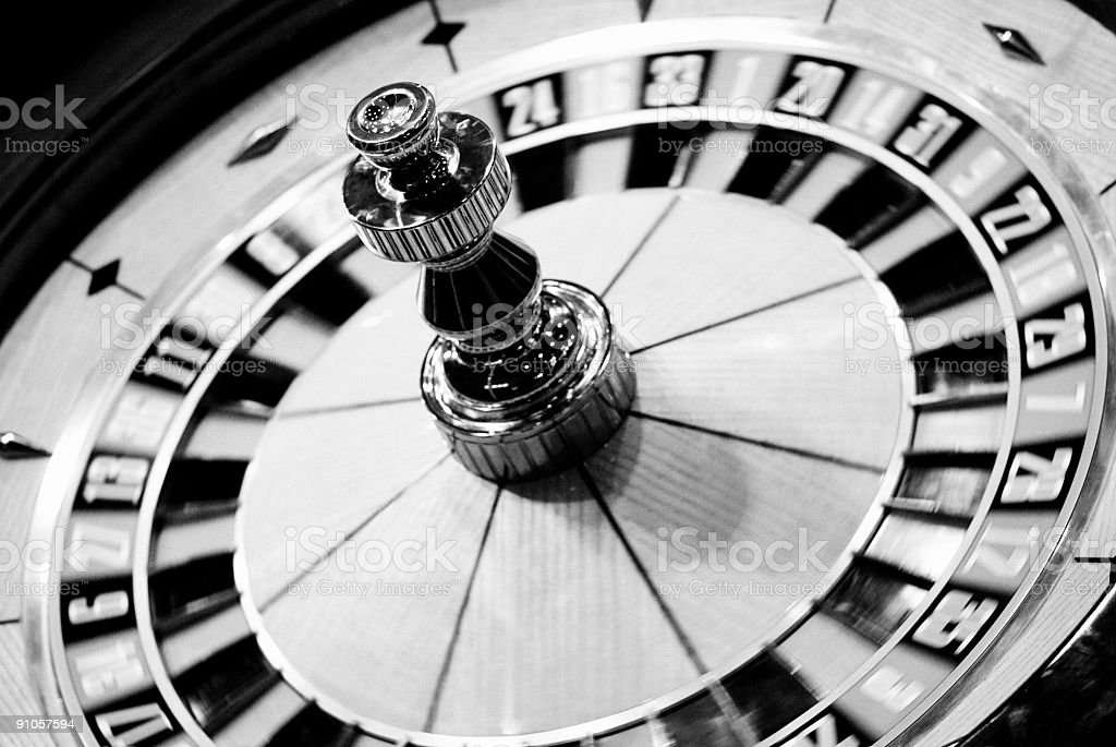 Stock Photo Casino Roulette royalty-free stock photo