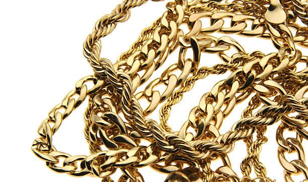 Stock Photo Gold Jewelry stock photo