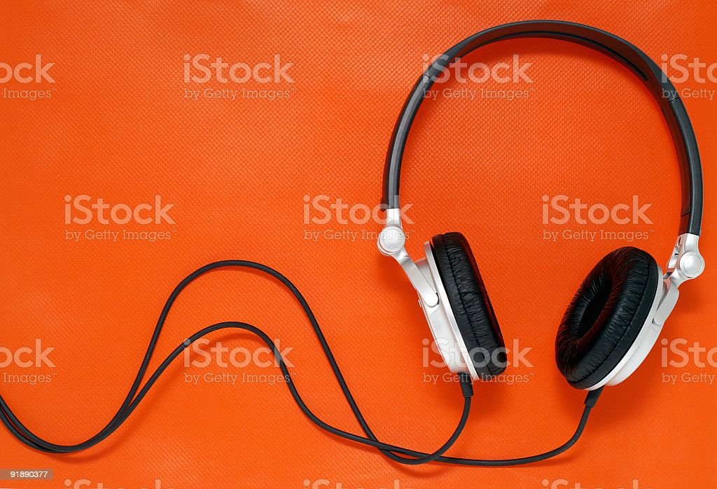 Stock Photo Music Headphones stock photo