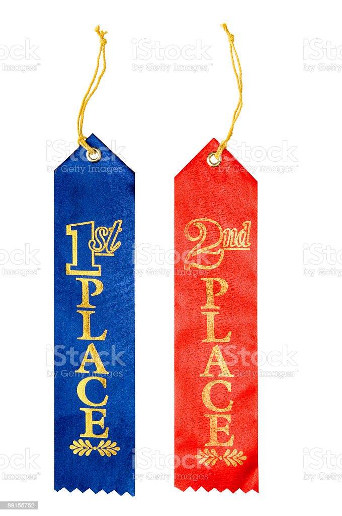 Stock Photo of Awards Ribbons royalty-free stock photo