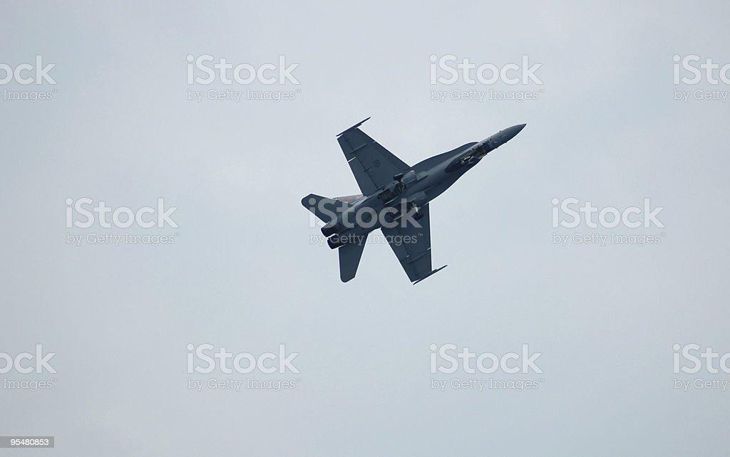 Stock Photo of FA-18 Hornet stock photo