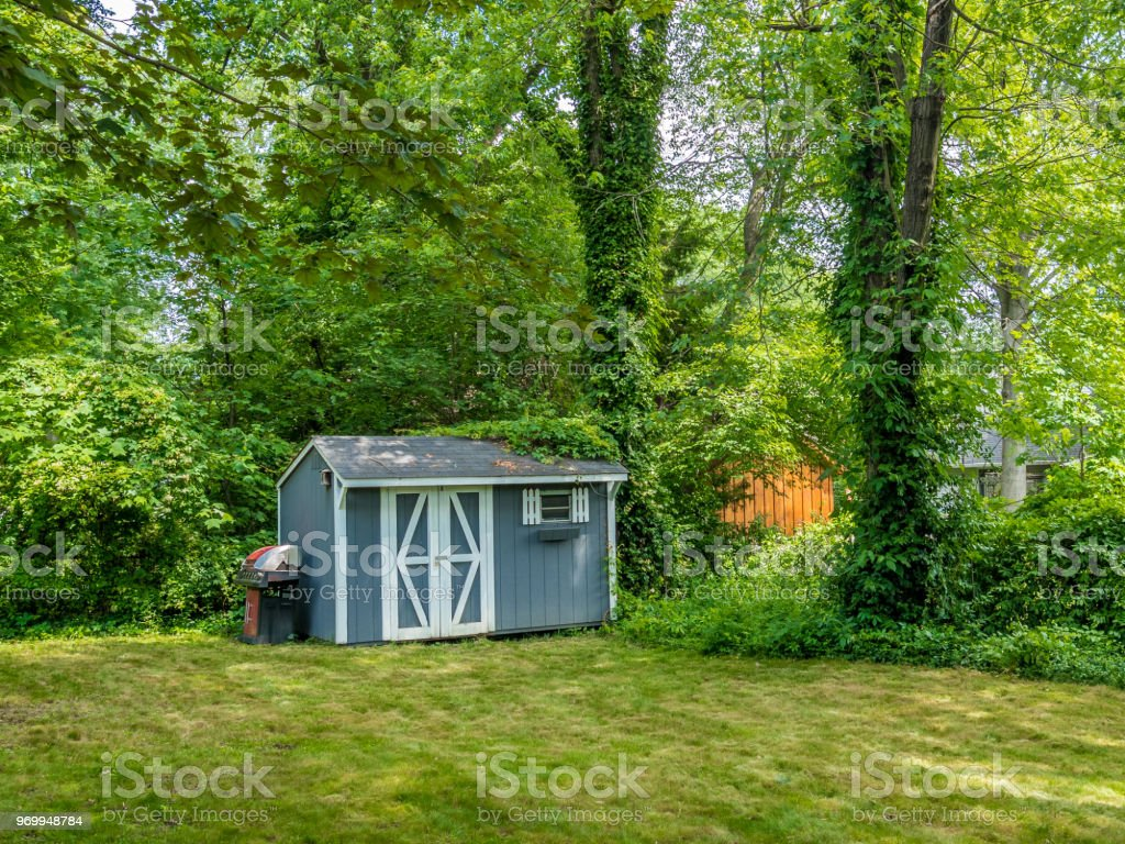 Stock photo of the shed stock photo
