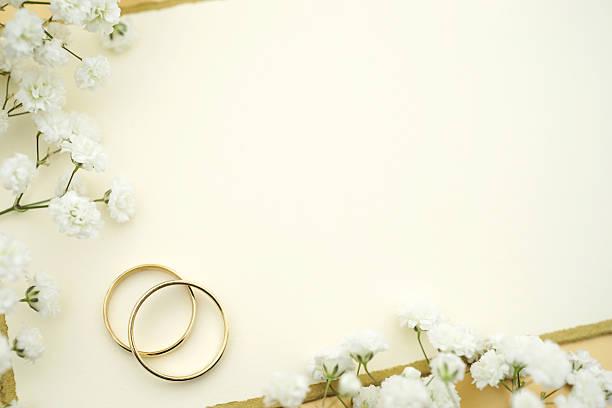 Stock Photo Wedding Invitation stock photo