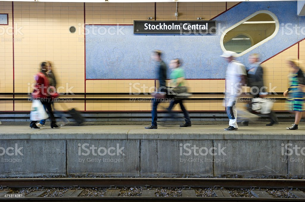 Stockholm Central royalty-free stock photo