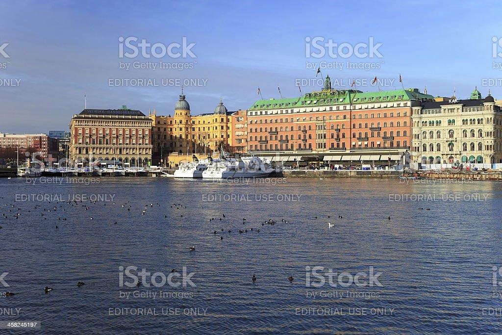 Centro de Estocolmo - foto de acervo