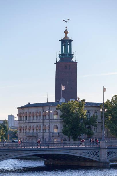Stockholm City Hall stock photo