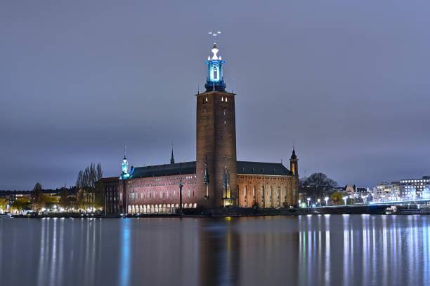 Ayuntamiento de Estocolmo - foto de stock