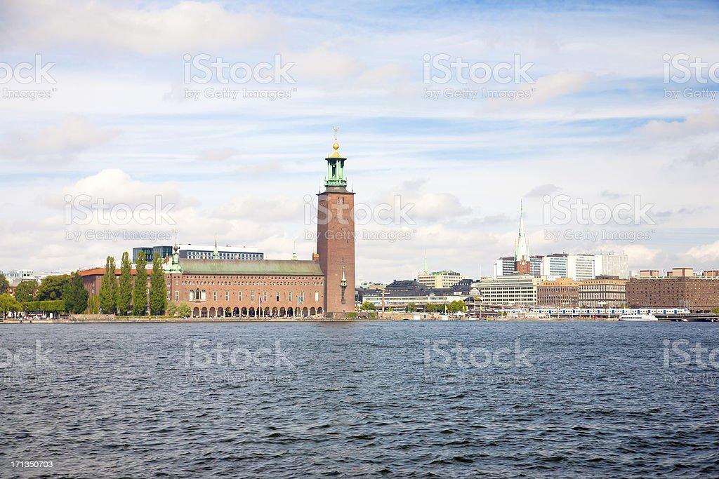 Das Rathaus von Stockholm – Foto