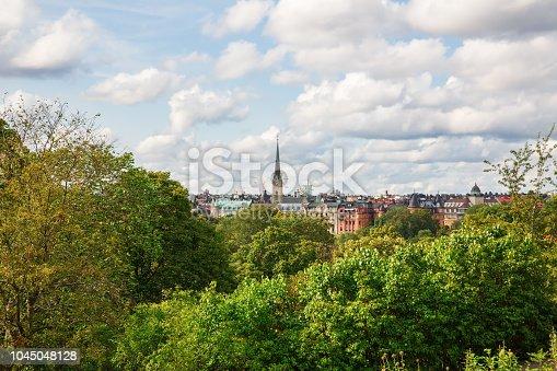 istock Stockholm city 1045048128