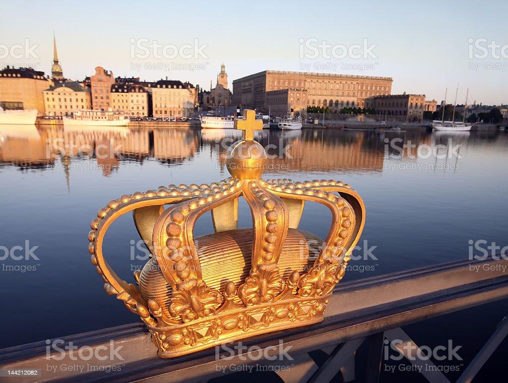 Stockholm city royalty-free stock photo