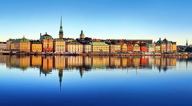 miejski w sztokholmie - szwecja zdjęcia i obrazy z banku zdjęć
