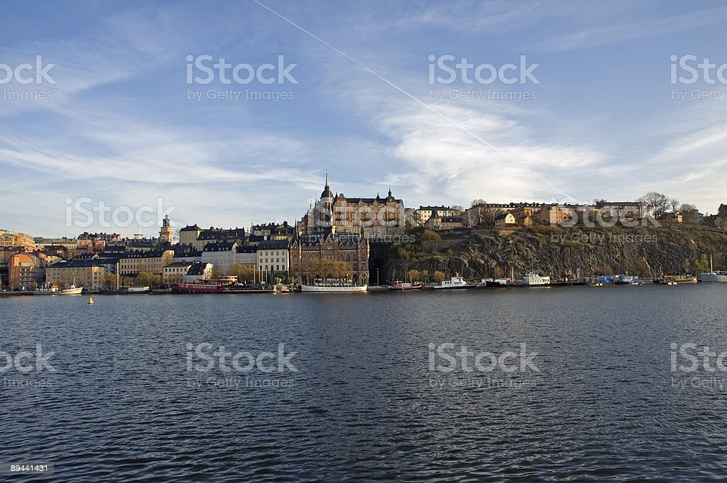 Stockholm City royalty free stockfoto