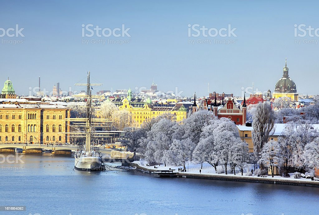 Stockholm City, Sweden stock photo