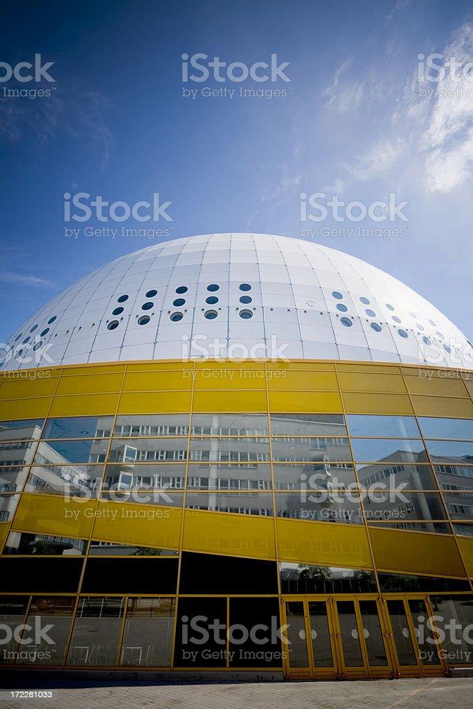 Stockholm Globe Arena royalty-free stock photo