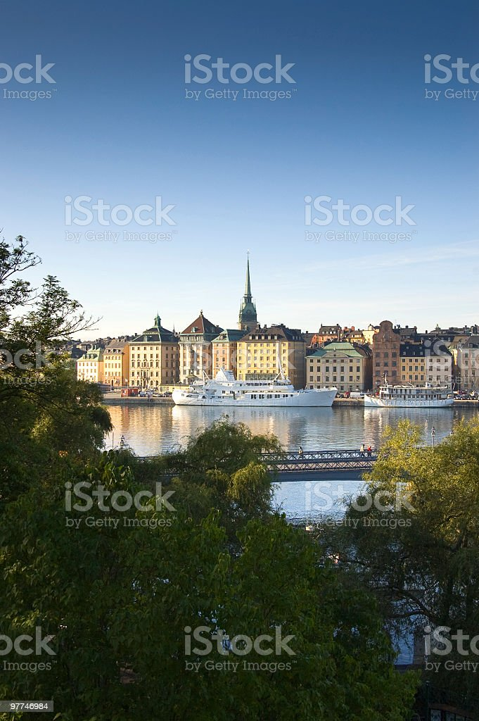 Stockholm in my heart royalty-free stock photo